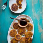Savory Chinese Sweet Potato Pancakes