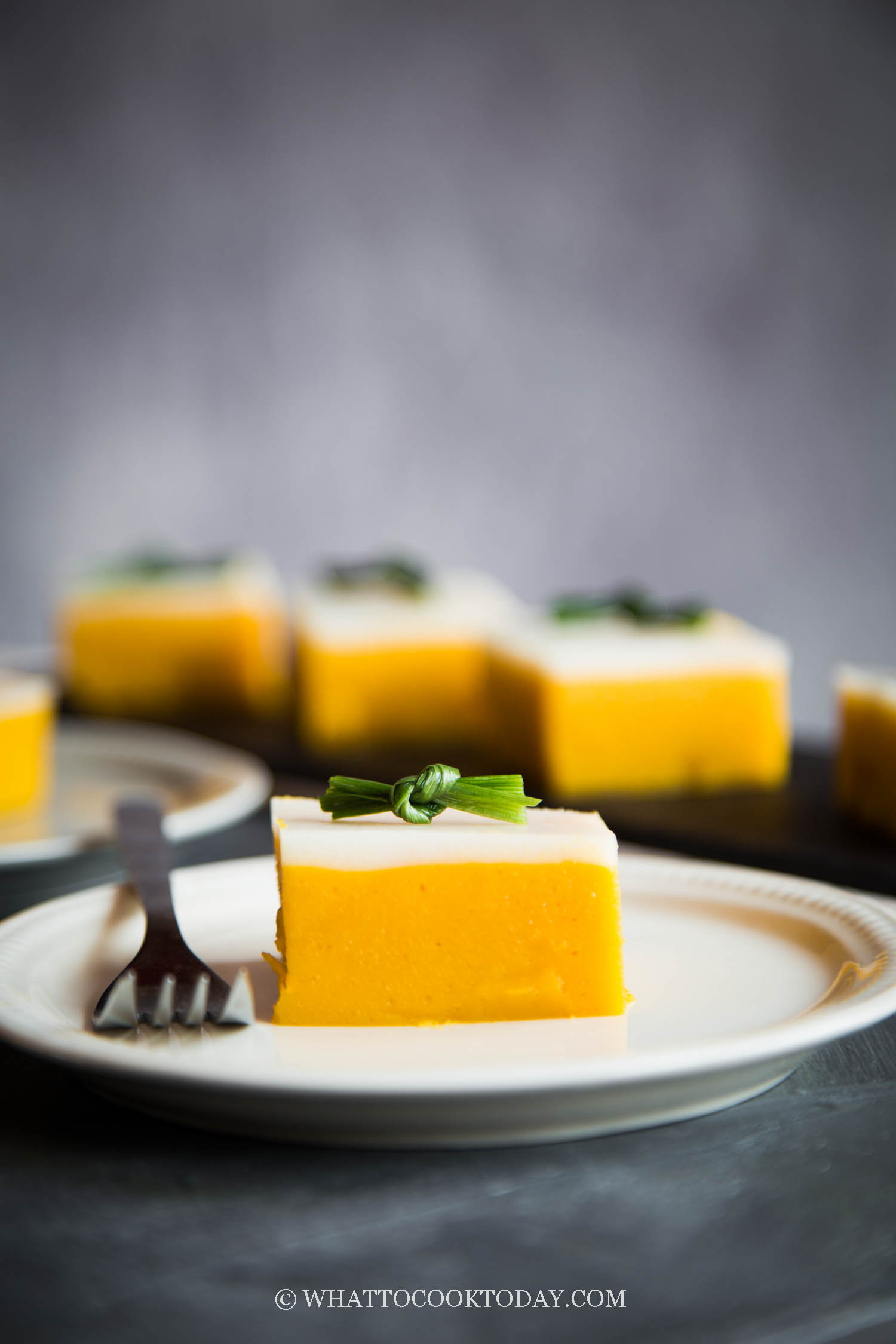 Two-Layer Sweet Potato Cake (Kue Talam Ubi)