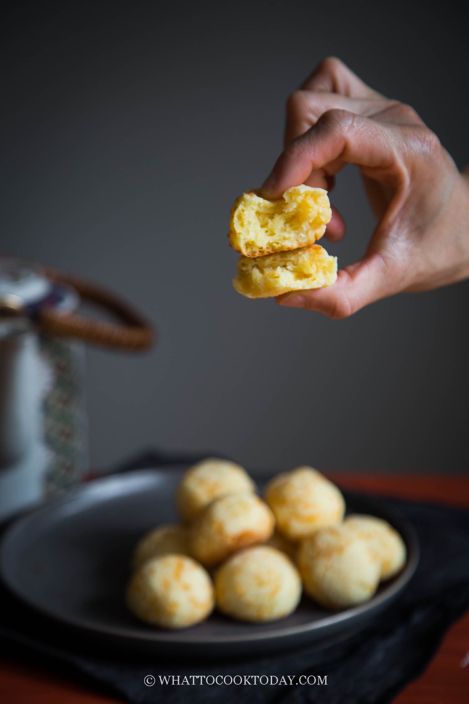 Super Easy Mini Cheddar Mochi Bread