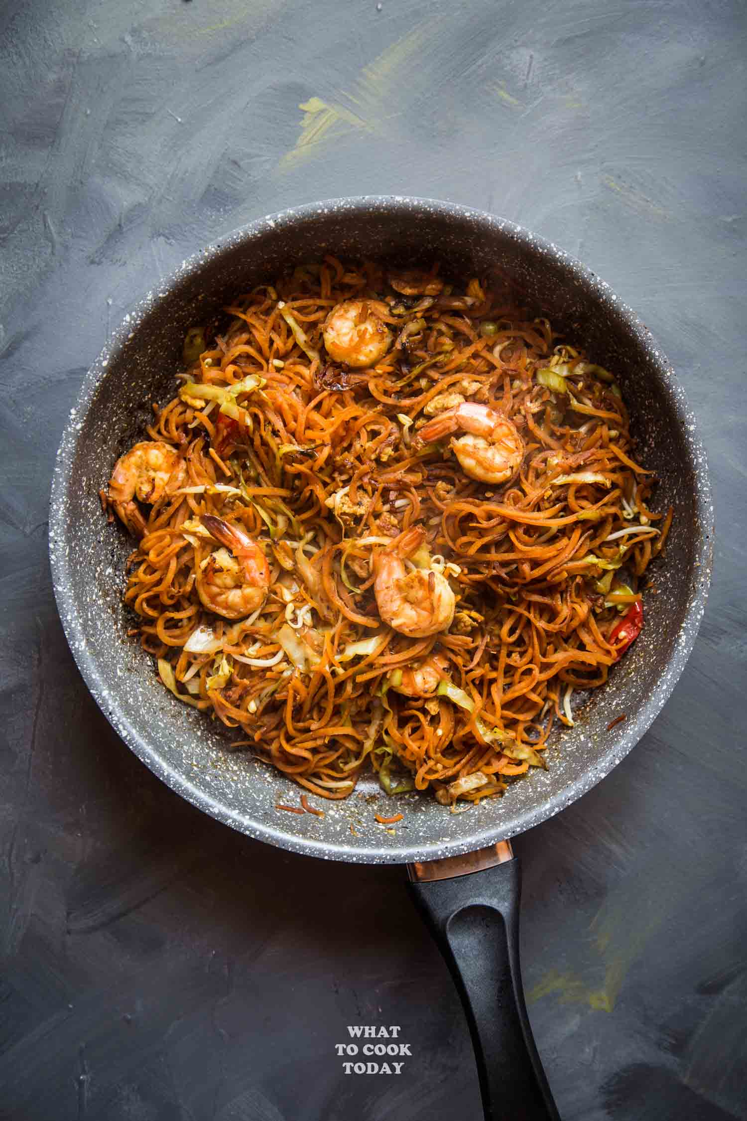 Asian-Style Spiralized Sweet Potato Noodle Stir-fry