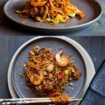 Asian-Style Spiralized Sweet Potato Noodle Stir-fry
