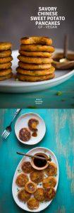 Savory Chinese Sweet Potato Pancakes