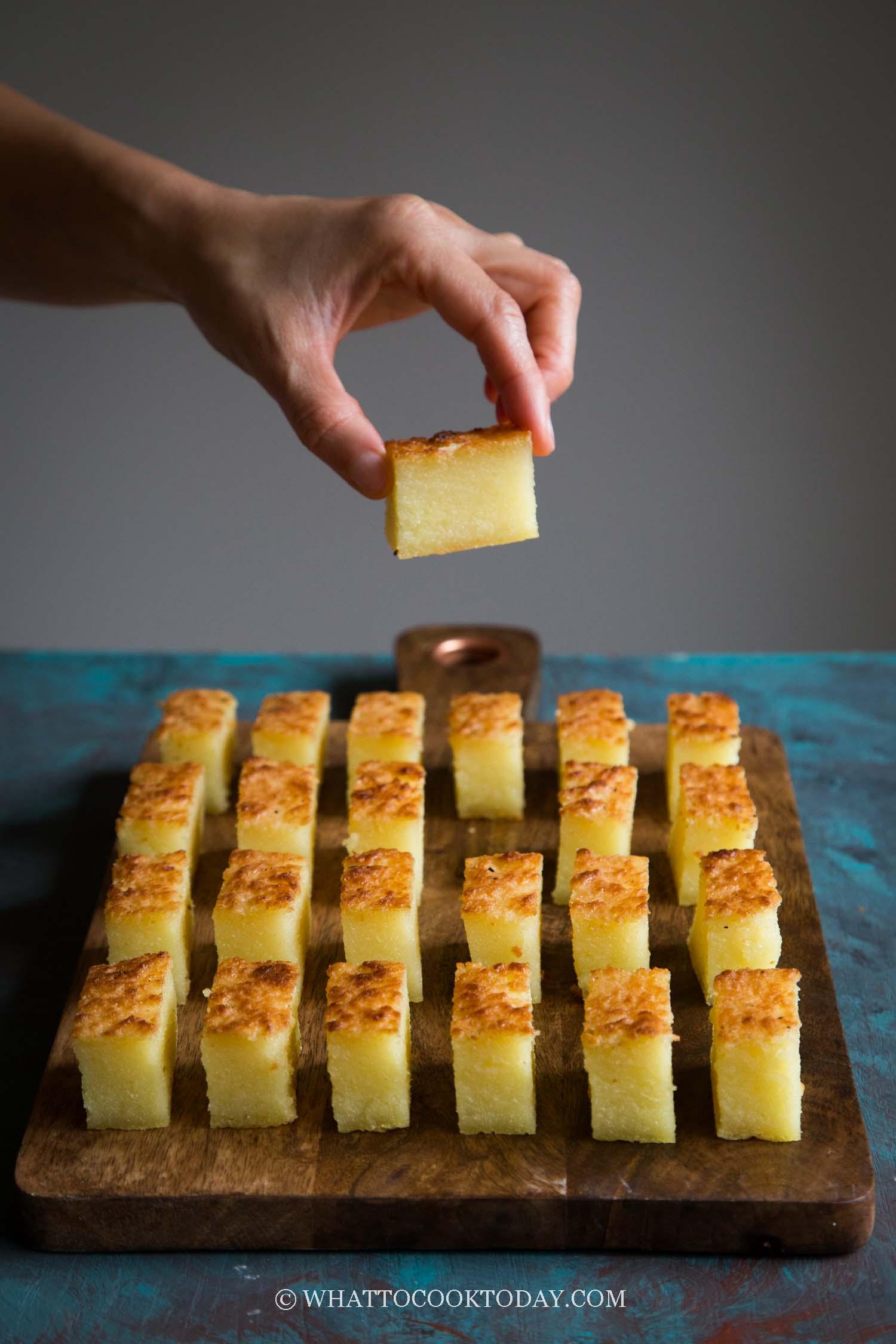 Bingka Ubi Kayu (Baked Cassava Cake)