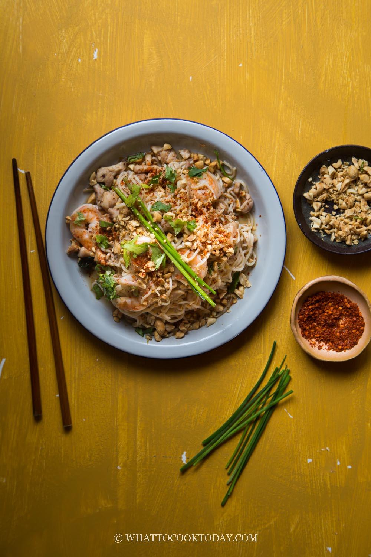 Stir-fried Shirataki (Miracle Noodles) Pad Thai