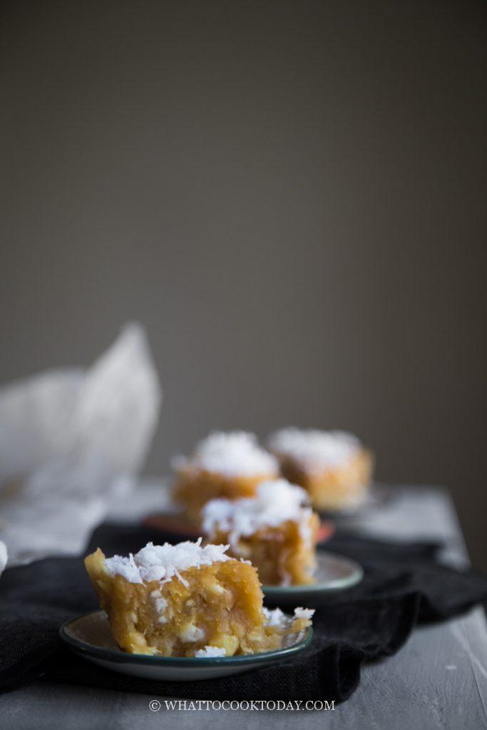 Getuk Singkong Gula Merah (Pressed Cassava Cake)