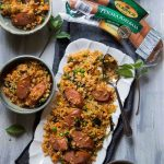 20-Minute Thai Red Curry Sausage Fried Rice