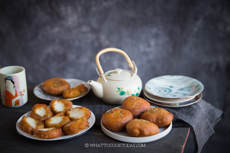 Ham Chim Peng (Chinese Fried Doughnuts) - Two Ways!