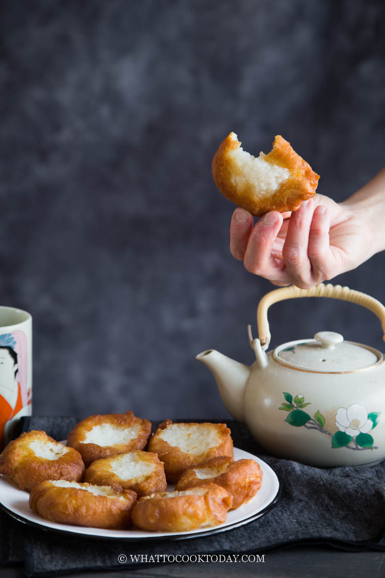 Ham Chim Peng (Chinese Fried Doughnuts) - Two Ways!