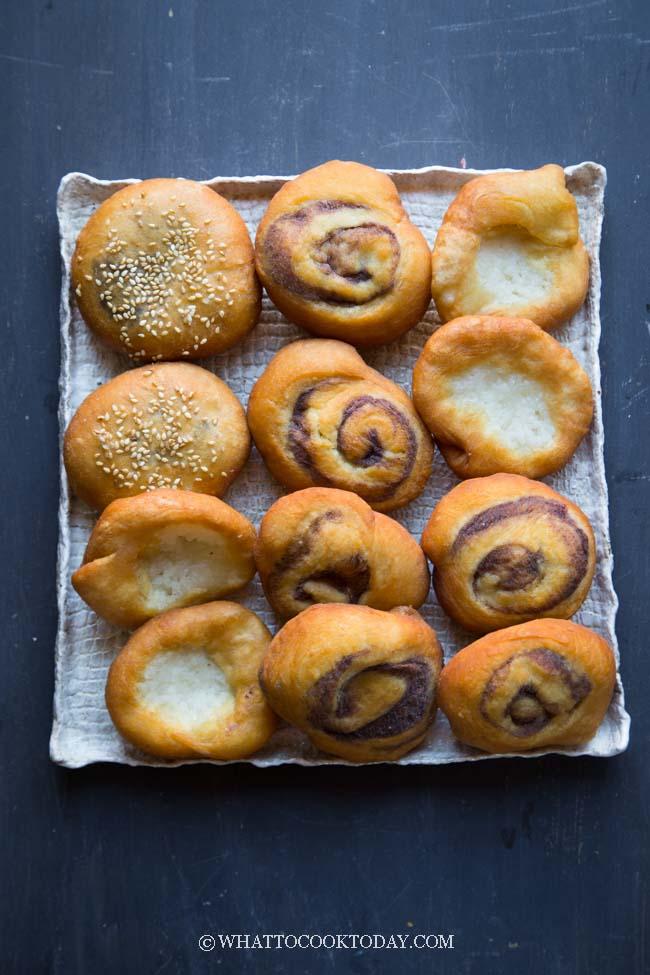 Ham Chim Peng (Chinese Fried Doughnuts) - Three Ways!