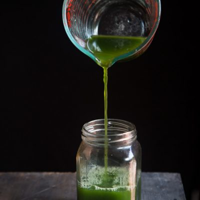 How To Make Pandan Juice and Pandan Extract