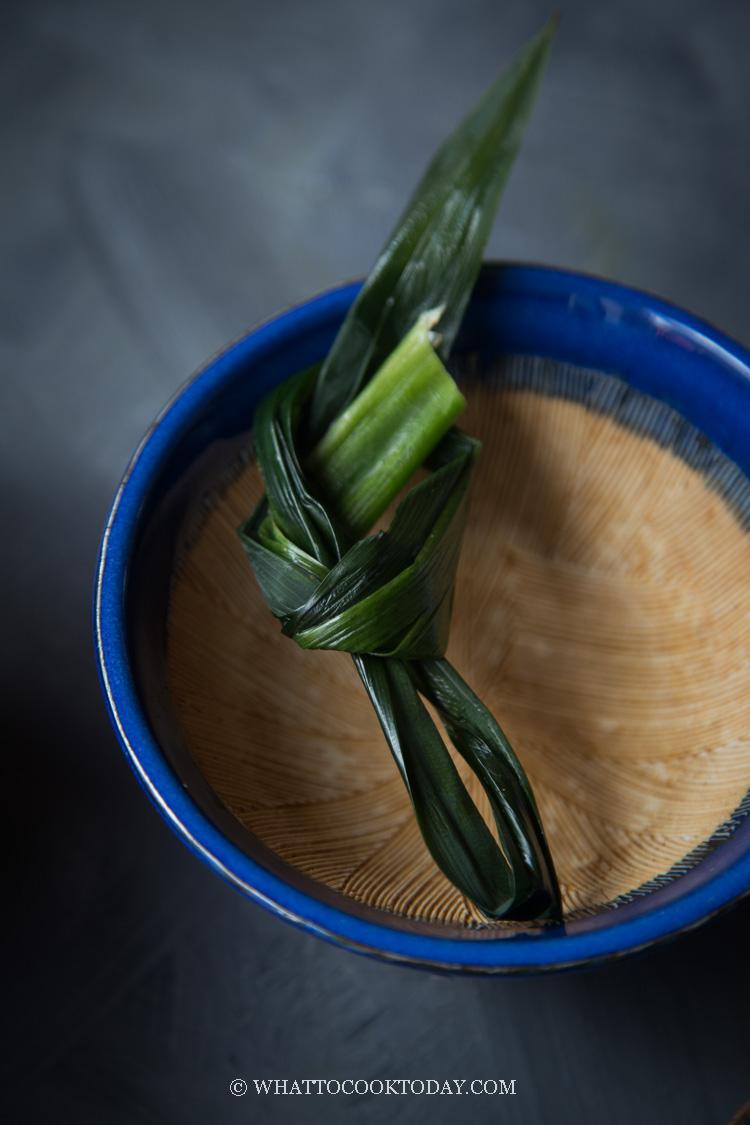 Nasi Pandan Wangi (Aromatic Pandan Rice)