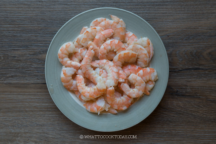how to prepare shrimp so it won't curl