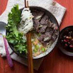 Pressure Cooker Beef Shank Noodle Soup
