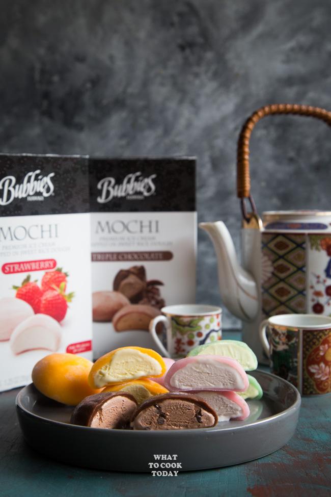 Bubbies Mochi Ice Cream #ad #BubbiesIceCream #BubbiesMochiIceCream