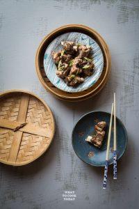 Pressure Cooker Dim Sum Pork Ribs with Black Beans