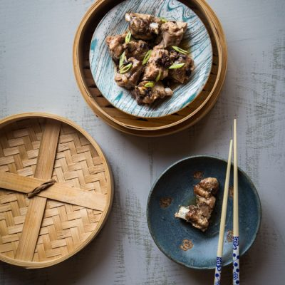 Pressure Cooker Dim Sum Pork Ribs with Black Beans