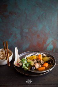 Pressure Cooker Winter Melon Pork Ribs Soup