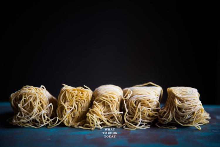 Dry Wonton Noodles (Wantan Mee)