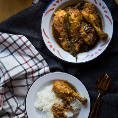 Ayam Kalio (Indonesian Wet Chicken Rendang)