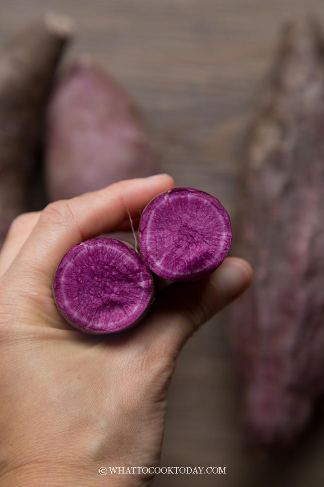 Purple Sweet Potato Chiffon Cake (Tried and True Recipe)