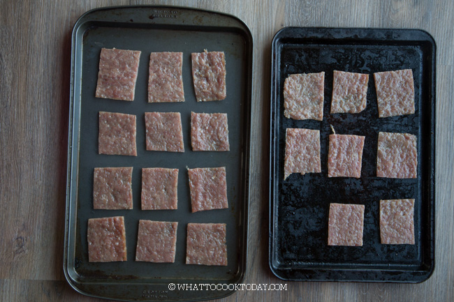 Easy Homemade Bak Kwa (Using Oven)