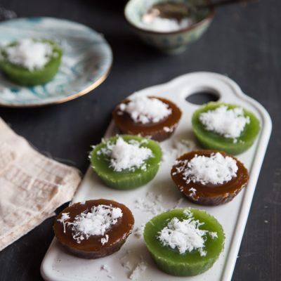 Kuih Kosui / Kue Lumpang (2 Flavors – No Alkaline Water)