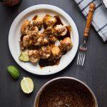 Batagor (Fried Dumplings with Peanut Sauce)