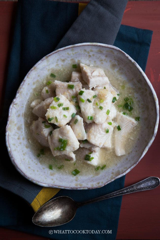 Chinese Fish Fillet in Ginger Sauce (姜汁鱼片)