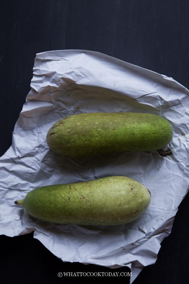 Fuzzy Melon (Hairy Gourd) #hairygourd #fuzzymelon