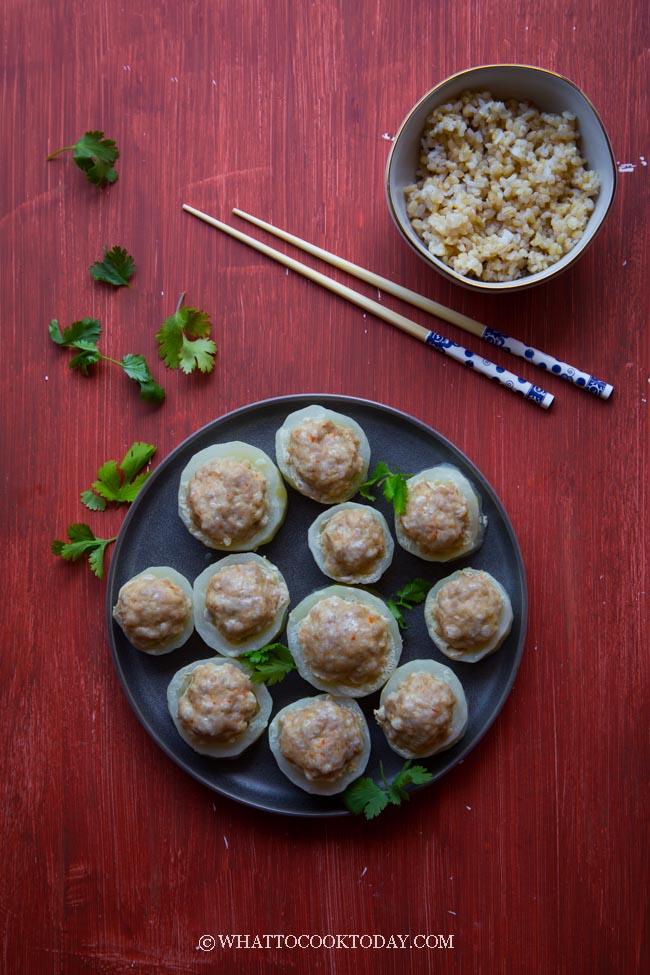 How To Make Stuffed Fuzzy Melon Rings (Mao Gua) #fuzzymelon #hairygourd