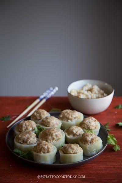 How To Make Stuffed Fuzzy Melon Rings (Mao Gua)