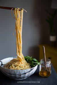 Super Easy Scallion Oil Noodles
