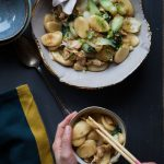 Easy Chinese Stir-fried Nian Gao Rice Cakes