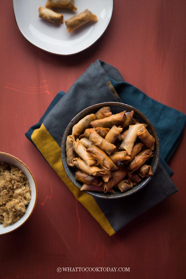 Easy Crispy Mini Pork Floss Rolls