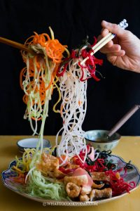 How To Prepare Yu Sheng / Yee Sang for Chinese New Year