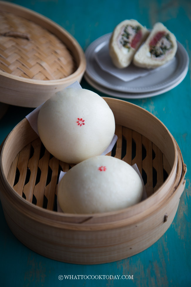 Soft and Fluffy Banh Bao (Vietnamese Steamed Pork Bun)