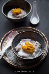 Teochew Orh Nee with Pumpkin Puree (Healthier Version)