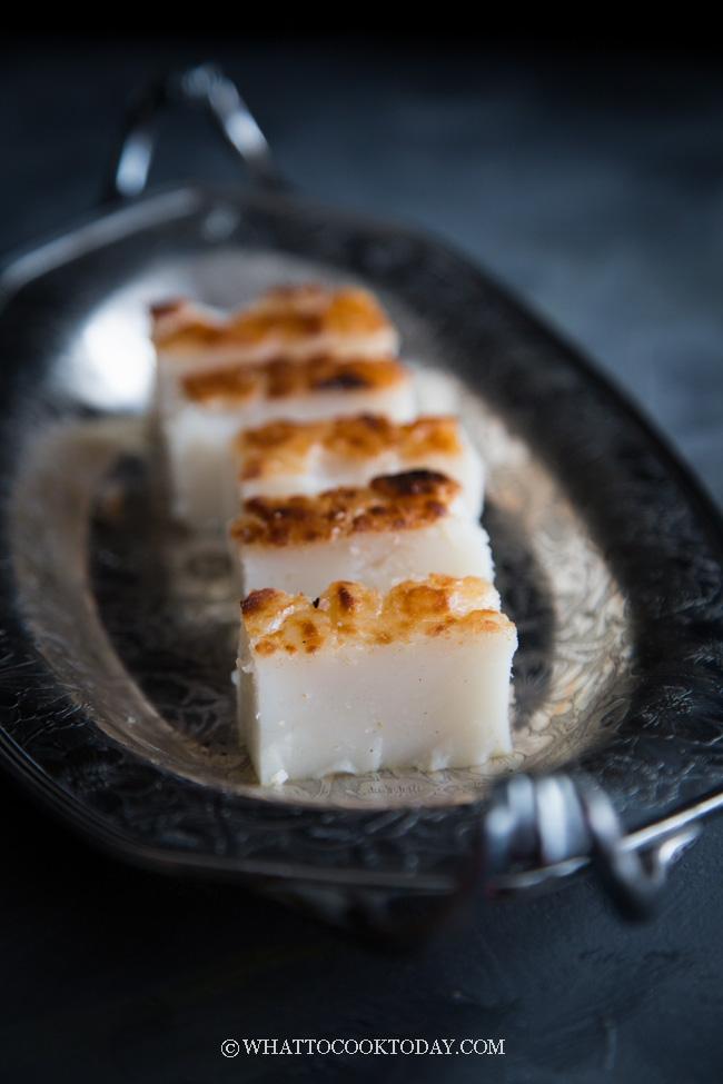 Bingka Tepung Beras (Baked Rice Flour Coconut Cake)
