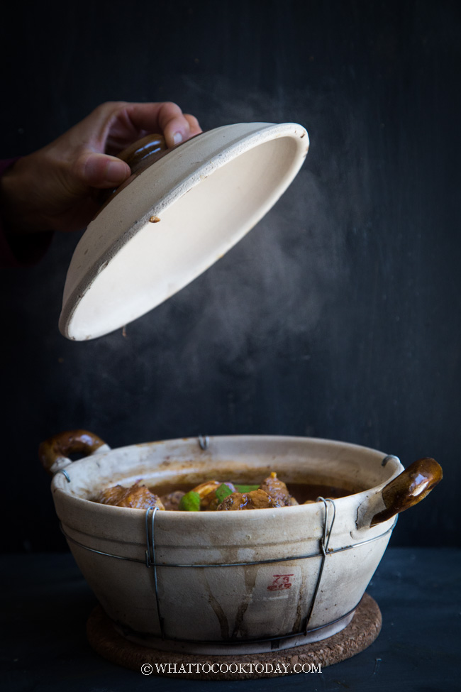 Clay Pot Dry Bak Kut Teh / Pork Ribs Tea (Made Easy)