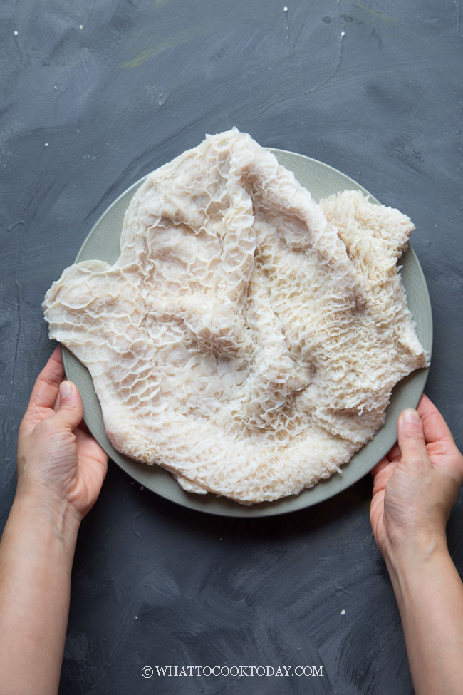 How to Clean Beef Honeycomb Tripe (step-by-step)