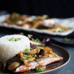 Super Easy Kecap Manis Soy Glazed Pan-Seared Salmon