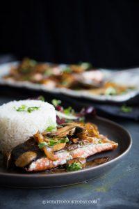 Super Easy Kecap Manis Soy Glazed Pan-Seared Salmon