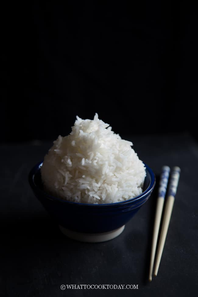How To Cook Fluffy Jasmine Rice (Rice Cooker, Instant Pot, Stove Top)