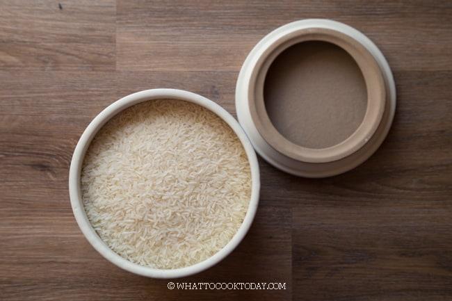 How to store jasmine rice