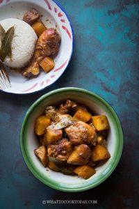 Semur Ayam Kentang Kecap (Chicken Potatoes Smoor)