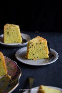 Perfectly Soft Fluffy Dragon Fruit Chiffon Cake