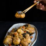 Golden Crispy Salted Egg Yolk Chicken