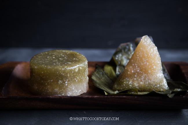 Kuih Abok Abok Sago (Steamed Tapioca Pearl Cake)