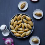 Mini Kok Cai (Chinese Crispy Peanut Puffs) - Baked or Fried
