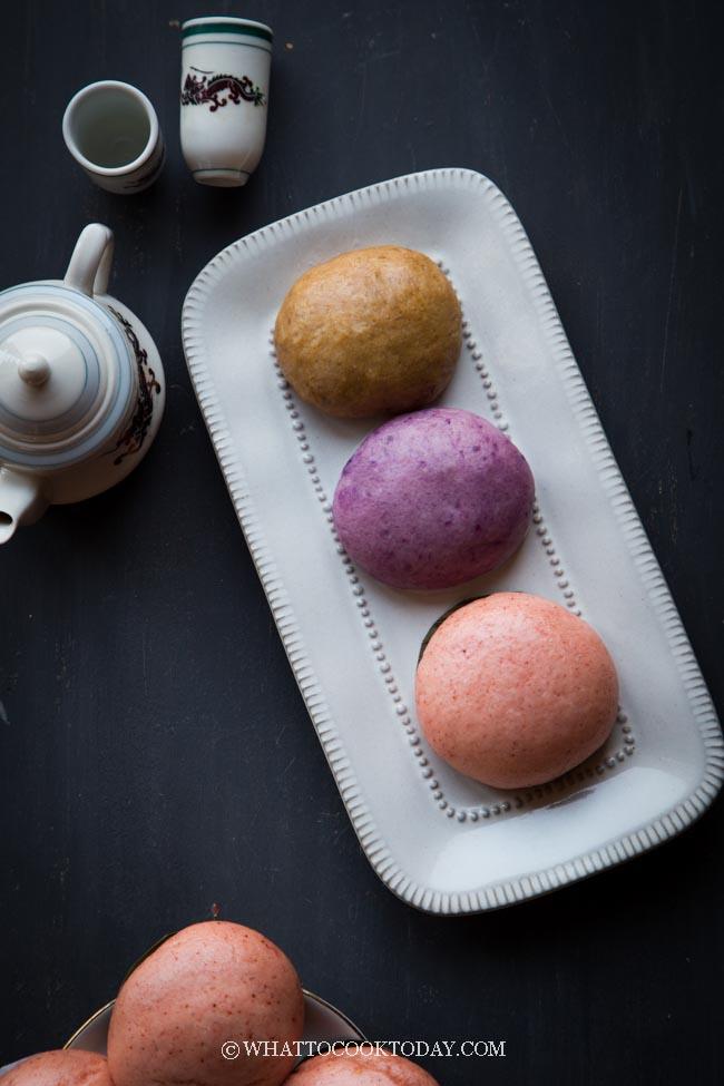Gula Melaka, Purple Sweet Potato, and Red Hee Pan